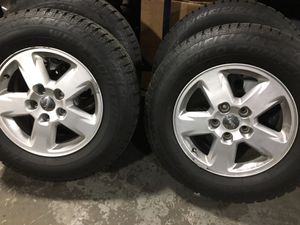 Brand new tires. On Jeep Grand Cherokee wheels ! for Sale in Seekonk, MA