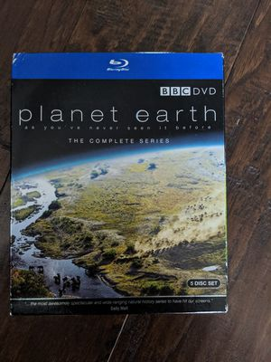 Planet Earth Blu-ray 5 Disc Set for Sale in Lewisville, TX