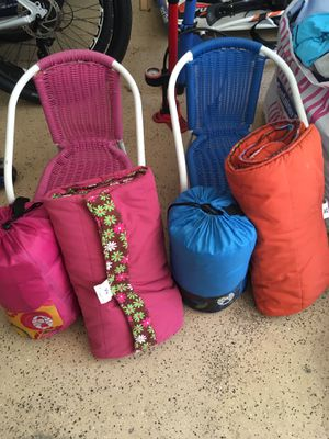 Kids chairs, nappers & sleeping bags for Sale in Alexandria, VA