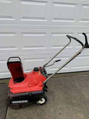 Honda snow blower for Sale in Niagara Falls, NY