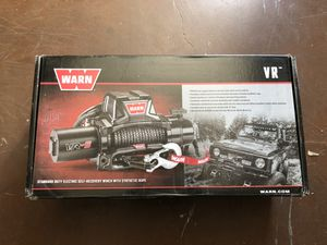 WARN VR10S WINCH - brand new for Sale in Burbank, CA