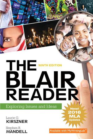 The Blair Reader: Exploring Issues and Ideas, MLA Update (9th Edition) for Sale in Stickney, IL