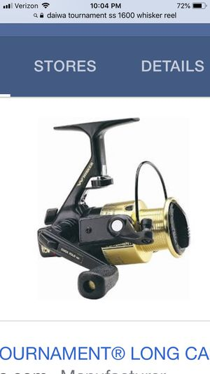Wanted -Daiwa whisker tournament ss1600 /2600 reel for Sale in Fresno, CA