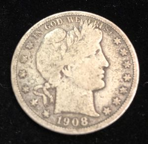 1908 Barber Silver Half Dollar for Sale in Clyde, TX