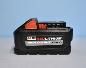 Milwaukee M18 High Output 6.0Ah Battery Pack for Sale in Queens, NY