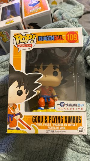 Goku and Flying Nimbus funko pop MINT for Sale in San Jose, CA