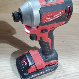 M18 Brushless Impact + 3.0ah High Output Battery for Sale in Cleveland, OH