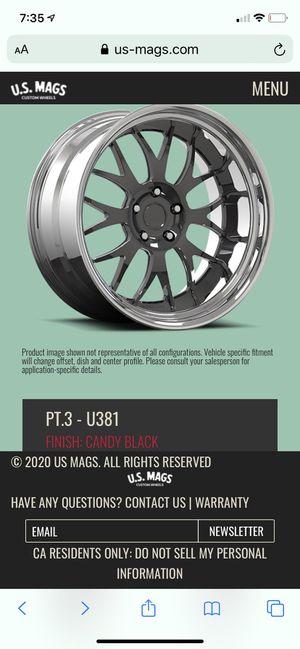 US mags / Camaro wheels for Sale in Moreno Valley, CA