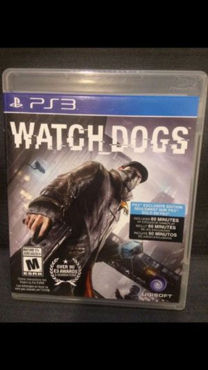 Watch Dogs PS3 Game for Sale in New York, NY
