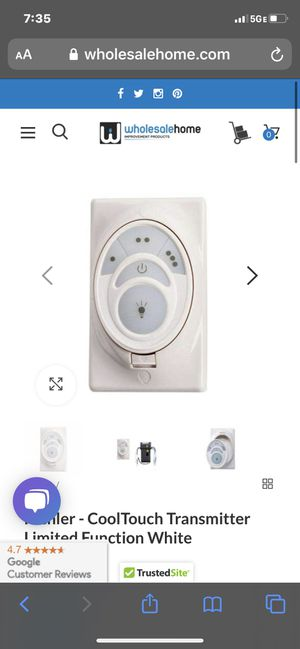 Ceiling fan control for Sale in Cleveland, OH