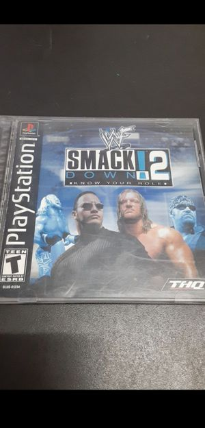WWF Smack Down! 2: Know Your Role for Sale in Rialto, CA