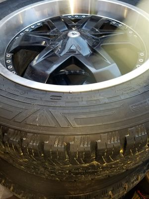 I got tires and rim for sale the tires is 275/55 R20 for Sale in Portland, OR