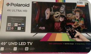"Polaroid 49GSR4100KM 49"" 4K 120Hz LED TV with Built-in Chromecast for Sale in Blacklick, OH"