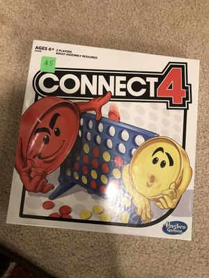 Connect 4 brand new/ cash sale only for Sale in San Jose, CA