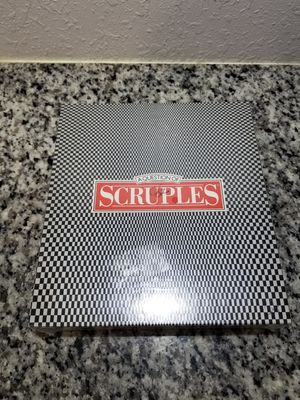 80s board game A Question Scruples Board Game for Sale in San Antonio, TX