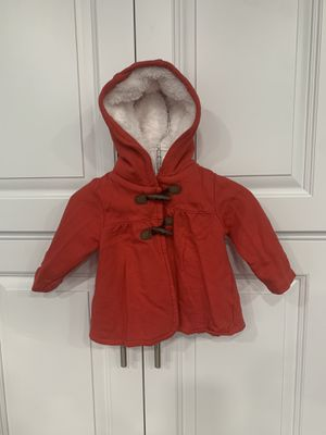 Baby Girl Carter's Red Hooded Coat for Sale in Tacoma, WA