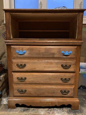Wooden project dresser for Sale in Wichita, KS
