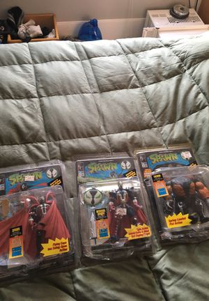 3 1994 Spawn Action Figures Mint conditioned Never opened! for Sale in Stoughton, MA