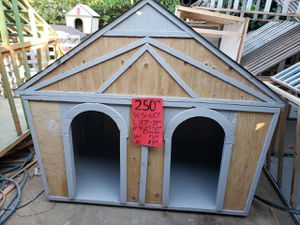 large gray dog house for sale for Sale in Corona, CA