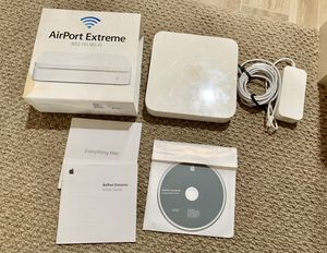 Apple AirPort Extreme 802.11n WiFi router for Sale in Alexandria, VA