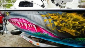 Custom painting on boats, surfboards, side by sides, etc for Sale in Greensboro, NC