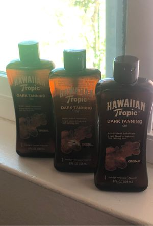 Hawaiian Tropic tanning oil for Sale in Tulare, CA