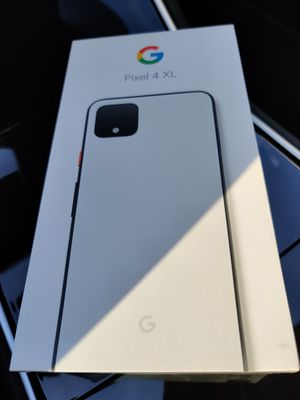 Pixel 4 XL 128 GB Clearly White Brand New Factory Sealed for Sale in Chino Hills, CA
