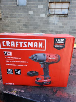 Craftsman 1/2 Impact Gun (Brand New) for Sale in Greensboro, NC