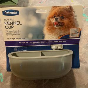 No Spill Double Kennel Cup for Sale in Vallejo, CA