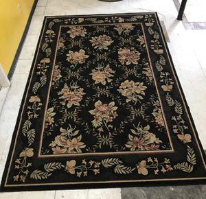 "Black Floral Area Rug (80"" X 121"") for Sale in Decatur, GA"