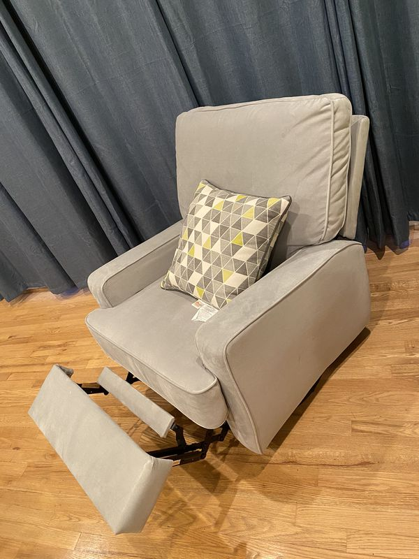 Fabric recliner chair