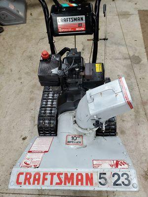 Crafstman trac drive 23 inch 5 hp electric start snow blower for Sale in Edinboro, PA
