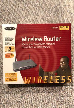 Belkin wireless router for Sale in Tualatin, OR