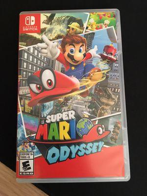 Nintendo Switch- Super Mario Odyssey for Sale in Sacramento, CA