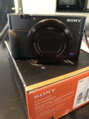 Sony RX100 M5A V VA 20.1 MP Digital Camera for Sale in Union City, CA