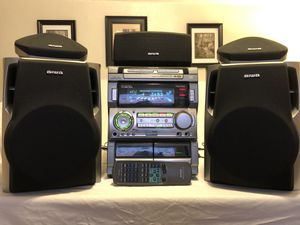 STEREO AIWA NSX-MT920 HOME THEATER for Sale in San Mateo, CA