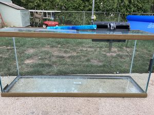 55 gallon fish tank for Sale in Crystal Lake, IL