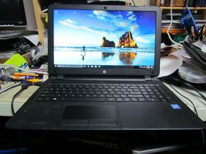 GOOD HP 15-f233wm 15.6in. LED Display (500GB, 4GB) 2015 Notebook/Laptop Windows 10 Webcam, HDMI, DVD for Sale in New York, NY