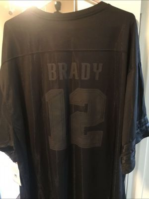New New England Patriots Black jersey Brady size 3 XT for Sale in National City, CA