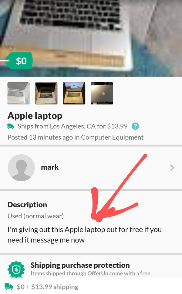 **SCAM**Guy Offers Free Items Just Pay Shipping *SCAM*
