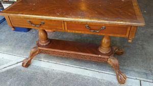 Antique stand / TV stand / small secretary desk. for Sale in Vancouver, WA