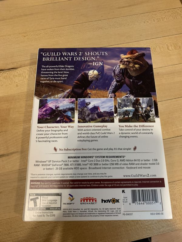 PC game guild wars