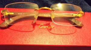 Cartier Frames - Clear lenses ~ See Description for Sale in Kenosha, WI