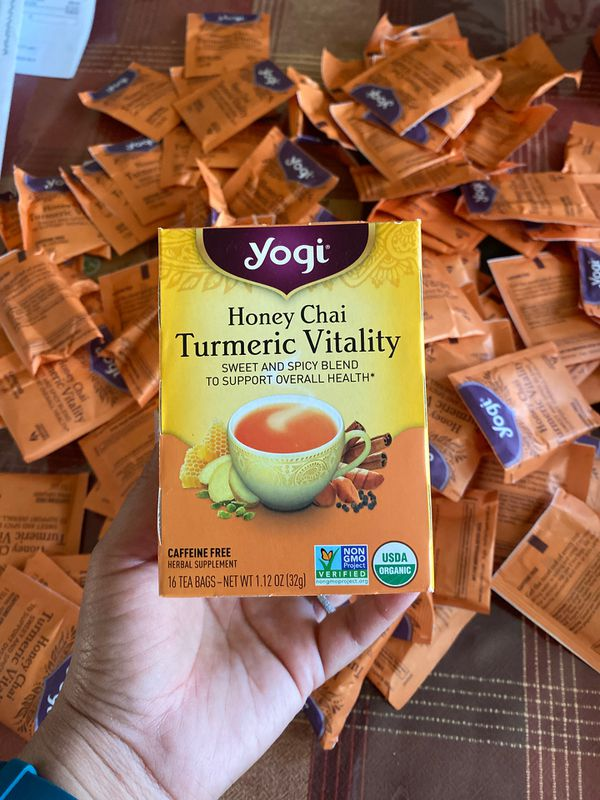 FREE! Yogi Tea packs NEW