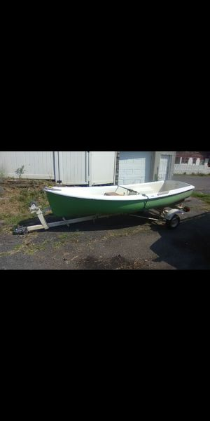 12 feet boat and trailer for sale for Sale in Milford, CT