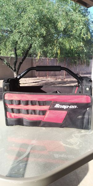Snap-on 16in open tool tote for Sale in Tucson, AZ