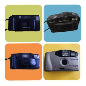 Point and Shoot 35mm Camera Lot for Sale in Temple City, CA