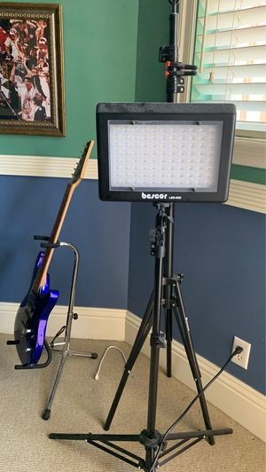 BESCOR led lighting for home studio! (2 available) for Sale in Hollywood, FL