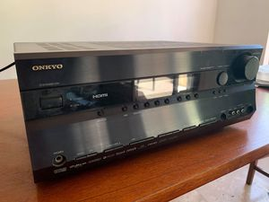 Onkyo TX-SR605 7.1 Channel Home Theater Receiver Surround Sound Dolby TrueHD for Sale in Chandler, AZ