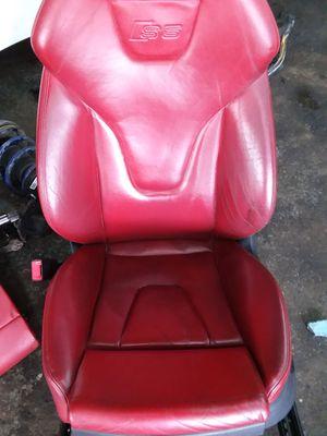 2008 Audi S5 interior seats. Complete set. for Sale in Detroit, MI